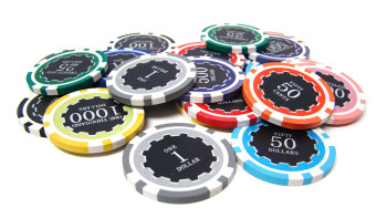 Eclipse 14 Gram Poker Chip Sample - 11 Chips