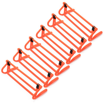 Agility Hurdles with Height Extenders, 6-pack