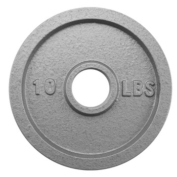 10lb Olympic Style Iron Weight Plate