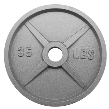 35lb Olympic Style Iron Weight Plate