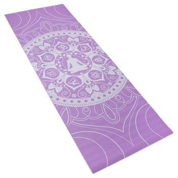 3mm Lilac Premium Printed Yoga Mat