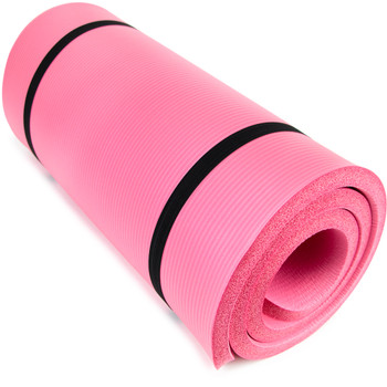 """Ultra Thick 1"""" Yoga Cloud, Pink"""
