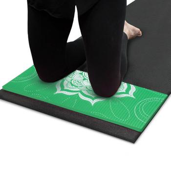 Chakra Art Yoga Knee Pad, Meadow
