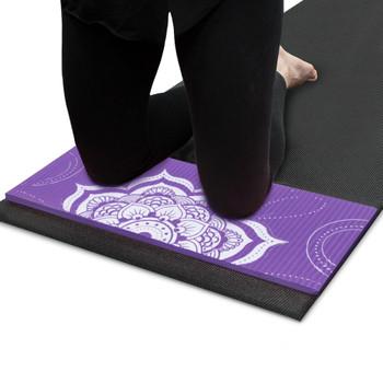 Chakra Art Yoga Knee Pad, Lilac