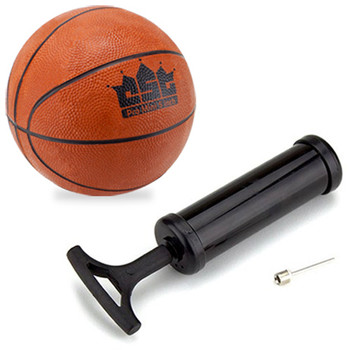 5-Inch Mini Basketball with Needle and Inflation Pump
