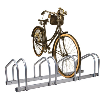 4 Bicycle Floor Stand and Storage Rack