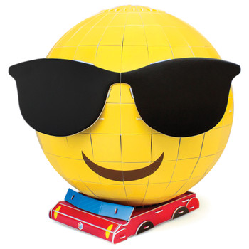 3D Foam Emoji Model, Made in Shades