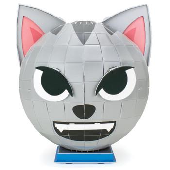 3D Foam Emoji Model, Frisky Felines