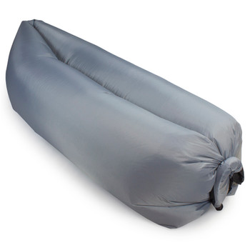 Inflatable Camping Couch, Slate