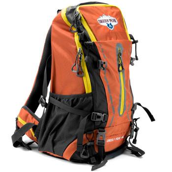 45L Internal Frame Backpack, Orange