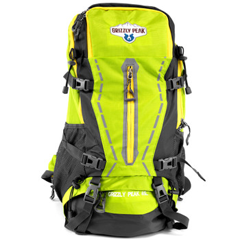45L Internal Frame Backpack, Lime