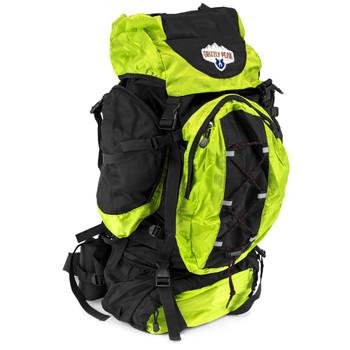 70L Internal Frame Backpack, Lime