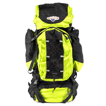 70L Internal Frame Backpack, Lime
