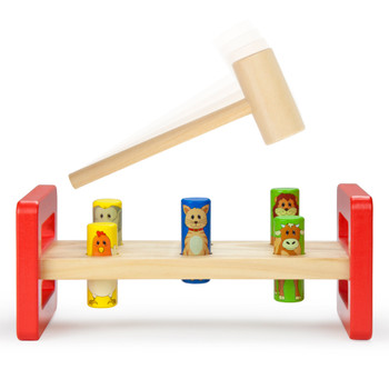 Animal Friends Hammer Bench