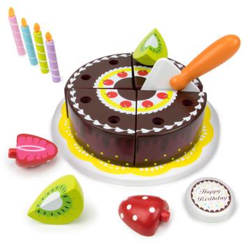Happy Birthday Chocolate Party Cake