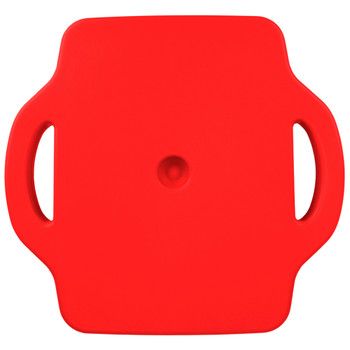 16in Gym Class Scooter Board w/Safety Handles - Red