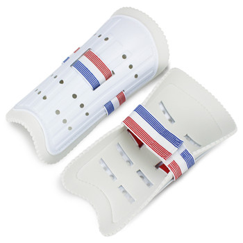 Youth Plastic Shin Guards with Soft Foam Interior