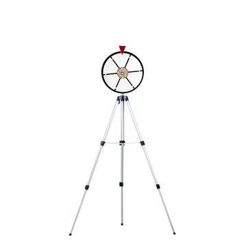 "12"" White Dry Erase Prize Wheel w/ Floor Stand"