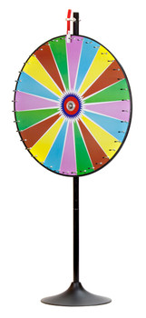 "36"" Dry Erase Color Prize Wheel w/Extension Base"