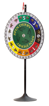 "36"" Spin Derby Prize Wheel w/Extension Base"