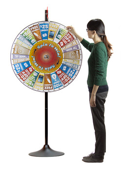 "36"" Prize Pocket Wheel with Stand"