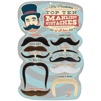 Mr. Moustachio's 10 Manliest Mustaches of All Time