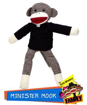 Minister Mook from The Sock Monkey Family