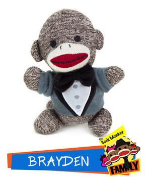 Brayden from The Sock Monkey Family