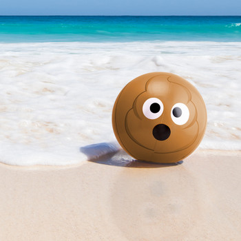 "12"" Emoji Beach Bums, 12-pack"