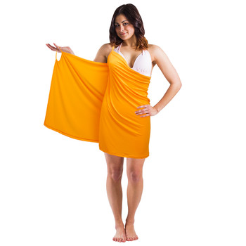 Backless Beach Dress Wrap, Blue
