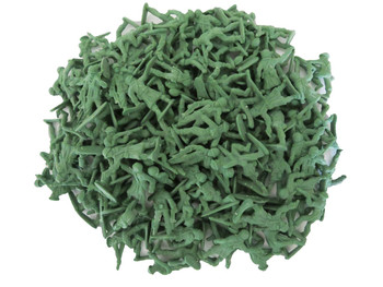 "1"" Green Plastic Army Men"