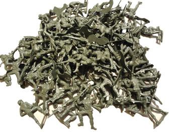 "2"" Green Plastic Army Men"