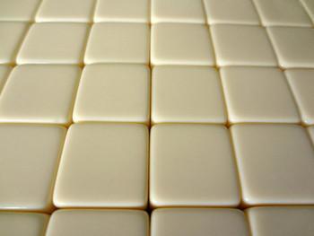 16mm Blank Ivory Dice