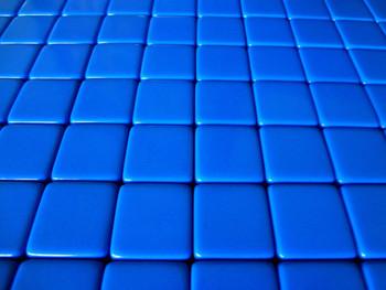 16mm Blank Blue Dice