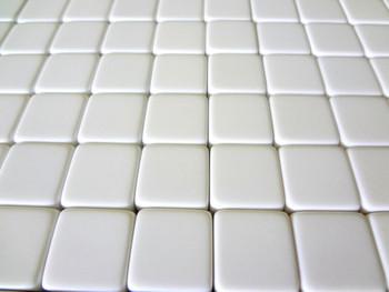16mm Blank White Dice