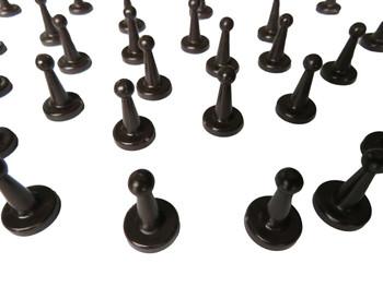 Brown Game Pawns
