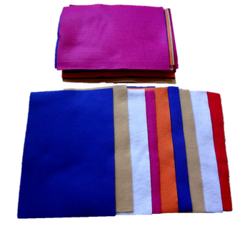 Assorted Color Felt Sheets