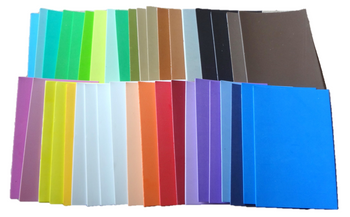 Assorted Color Foam Sheets w/ Sticky Back