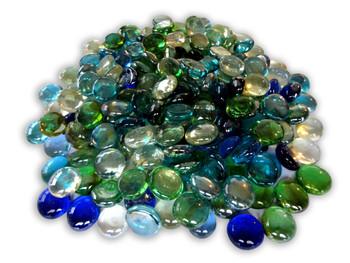 Glass Gemstones / Flat Marbles / Vase Fillers