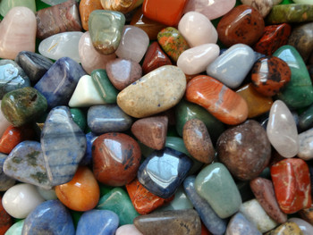 Polished Colored Gemstones - Natural Colors