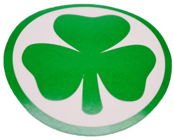 Shamrock Good Luck Stickers (Roll of 100)