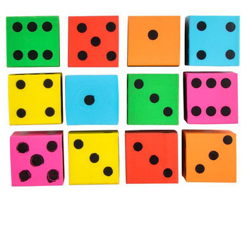 Bulk Dice Erasers (Pack of 720)