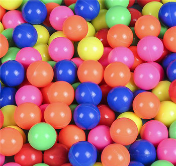 High Bounce Neon Rubber Balls 27mm (Pack of 1000)