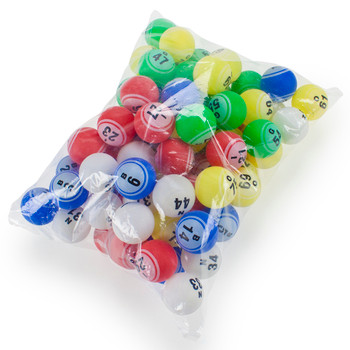 1.5in Replacement Set of Professional Bingo Balls