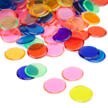 1000 Pack of Bingo Chips (Mixed)  Bulk Set of Markers