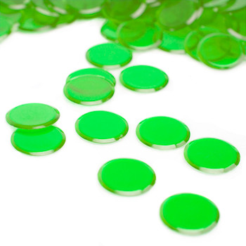 1000 Pack Green Bingo Chips