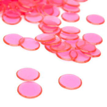 100 Pack Pink Bingo Chips