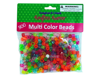 Multi-Color Crafting Pony Beads (pack of 24)
