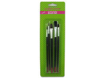 Craft & Hobby Brush Set (pack of 24)