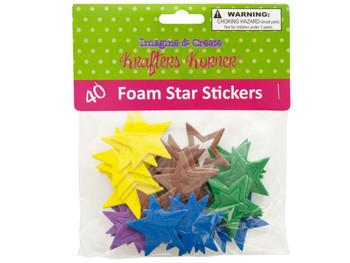 Foam Star Stickers (pack of 24)